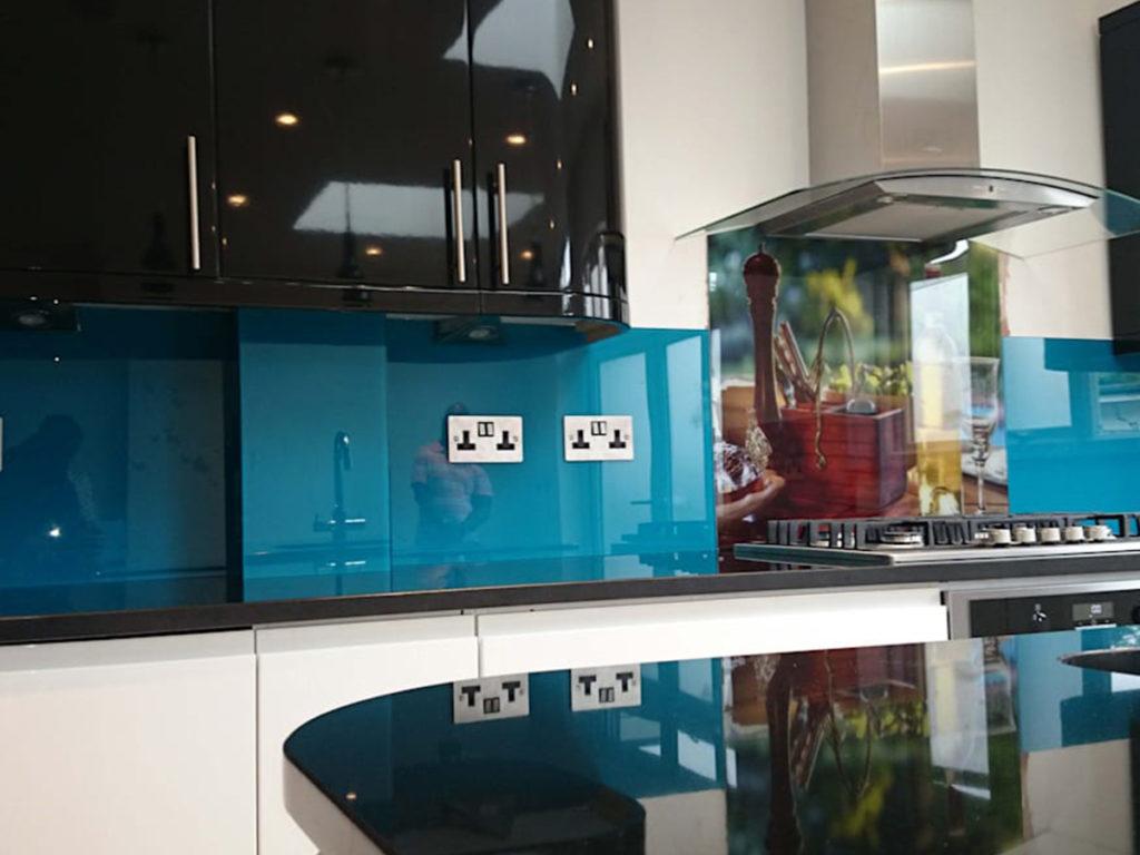nowoczesne szkło w kuchni